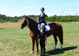 Nina und Belle Amie - 1. und 4. Platz