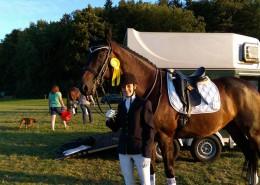 Christine Hebel und What's Up - Sieg in der M*-Dressur