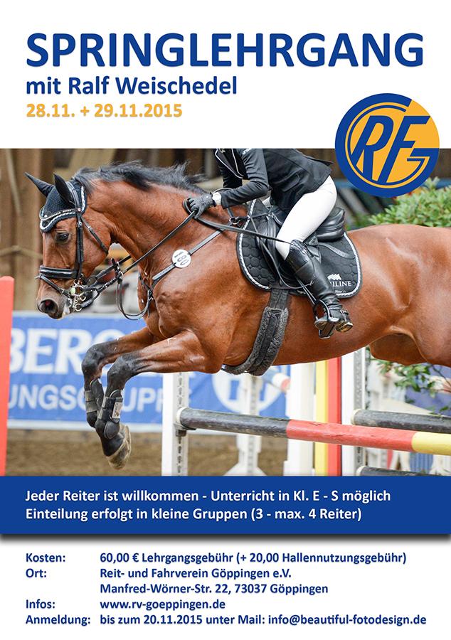 Springlehrgang Ralf Weischedel